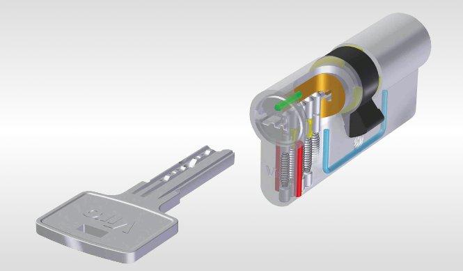 Cilindro europeo vantaggi serratura e chiave europea for Estrarre chiave rotta da cilindro