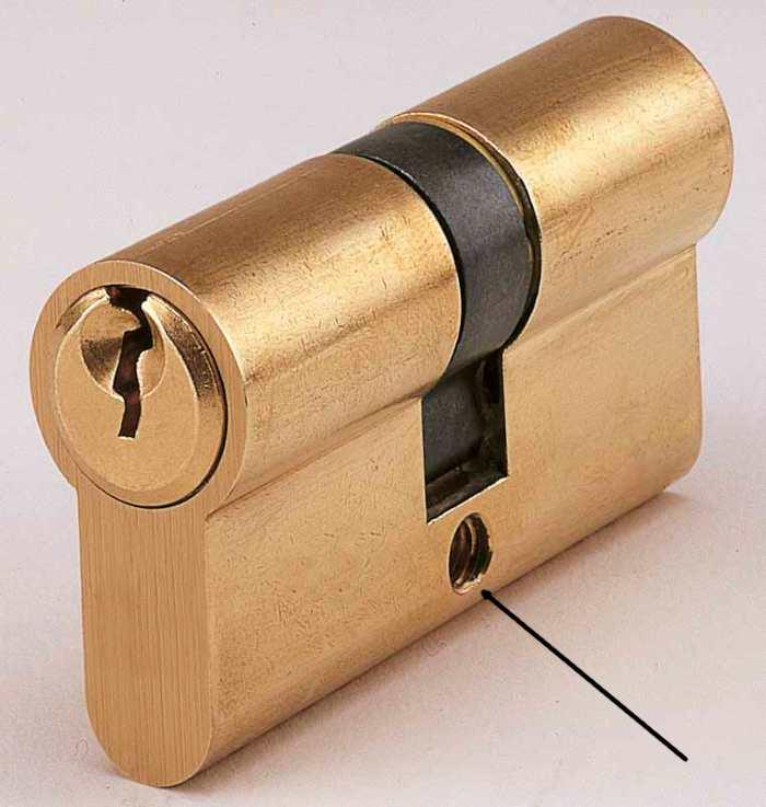 Defender serratura a cilindro europeo rosetta di - Come cambiare serratura porta interna ...