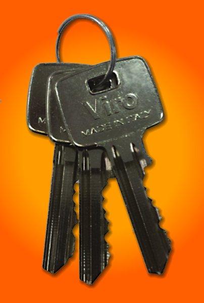 Le chiavi hanno un'impugnatura grande per essere facilmente manovrabili anche con guanti da lavoro.