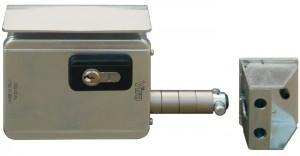La serratura Viro V09 è la prima serratura elettrica espressamente studiata per i cancelli scorrevoli.