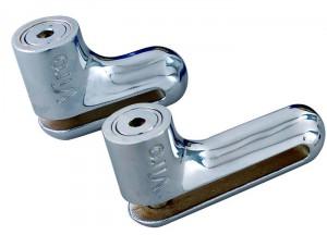 Il Viro Hardened è un blocca disco estremamente resistente, perché è realizzato interamente in acciaio.