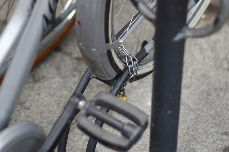 Una catena con una sezione così ridotta si taglia con un tronchese altrettanto piccolo.