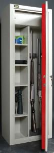 Un armadio di sicurezza modulare Viro.