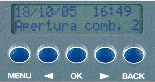 """L'armadio di sicurezza porta fucili elettronico """"Diario di caccia"""" Viro accetta 2 combinazioni diverse."""