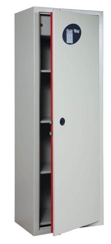 un armadio di sicurezza viro con serratura a combinazione elettronica