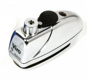 L'antifurto Viro MAS è progettato per integrarsi alla perfezione con il blocca disco con allarme Viro Sonar