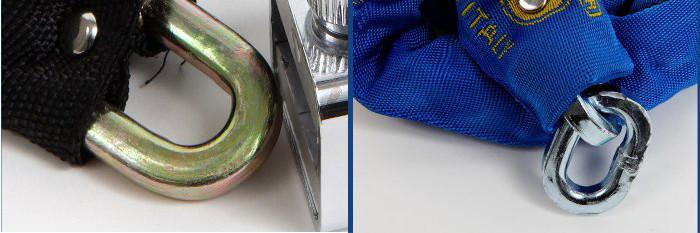 blocca catena VS copia - profilo maglie