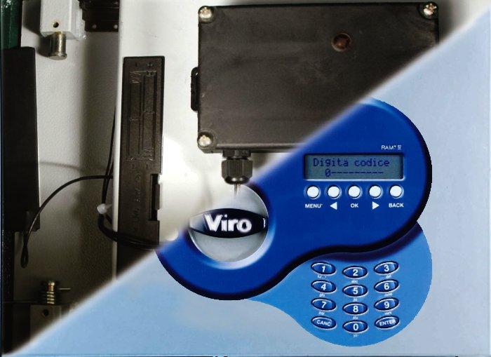 Esempio di dispositivo applicato all'interno della cassaforte RAM-TOUCH.