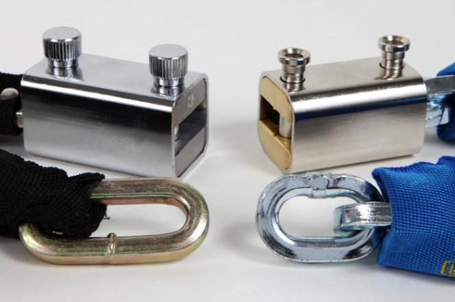 bloccacatena - confronto lunghezza anelli