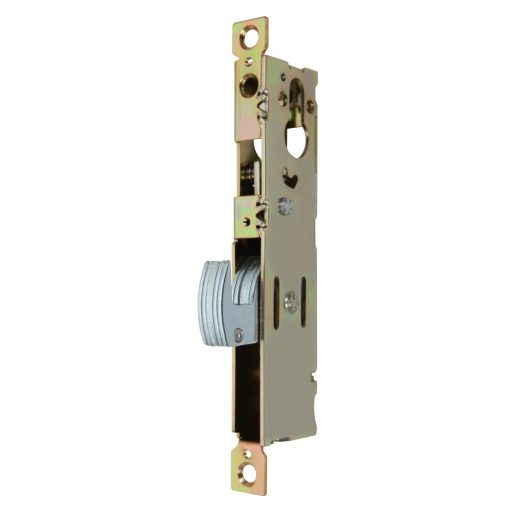 Locks for heavy frames with swing hook-bolt