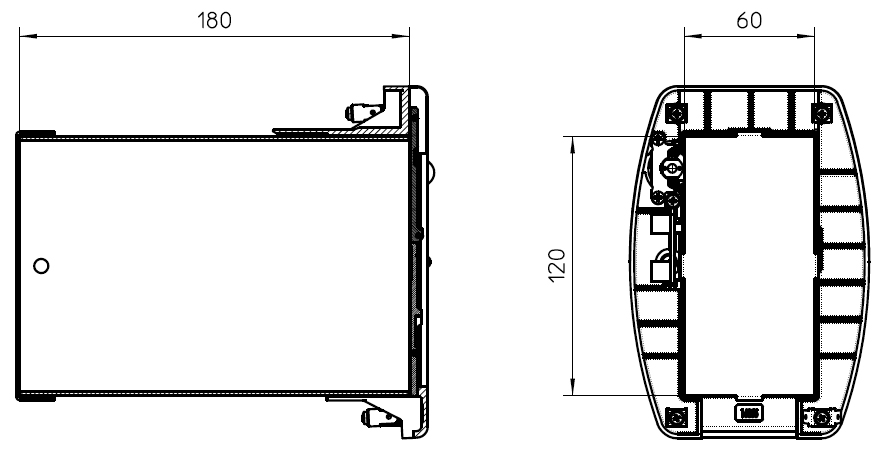 Compartments dimensions (mm) Viro AMS