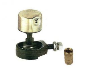 Lucchetto a campana con un unico punto di fissaggio