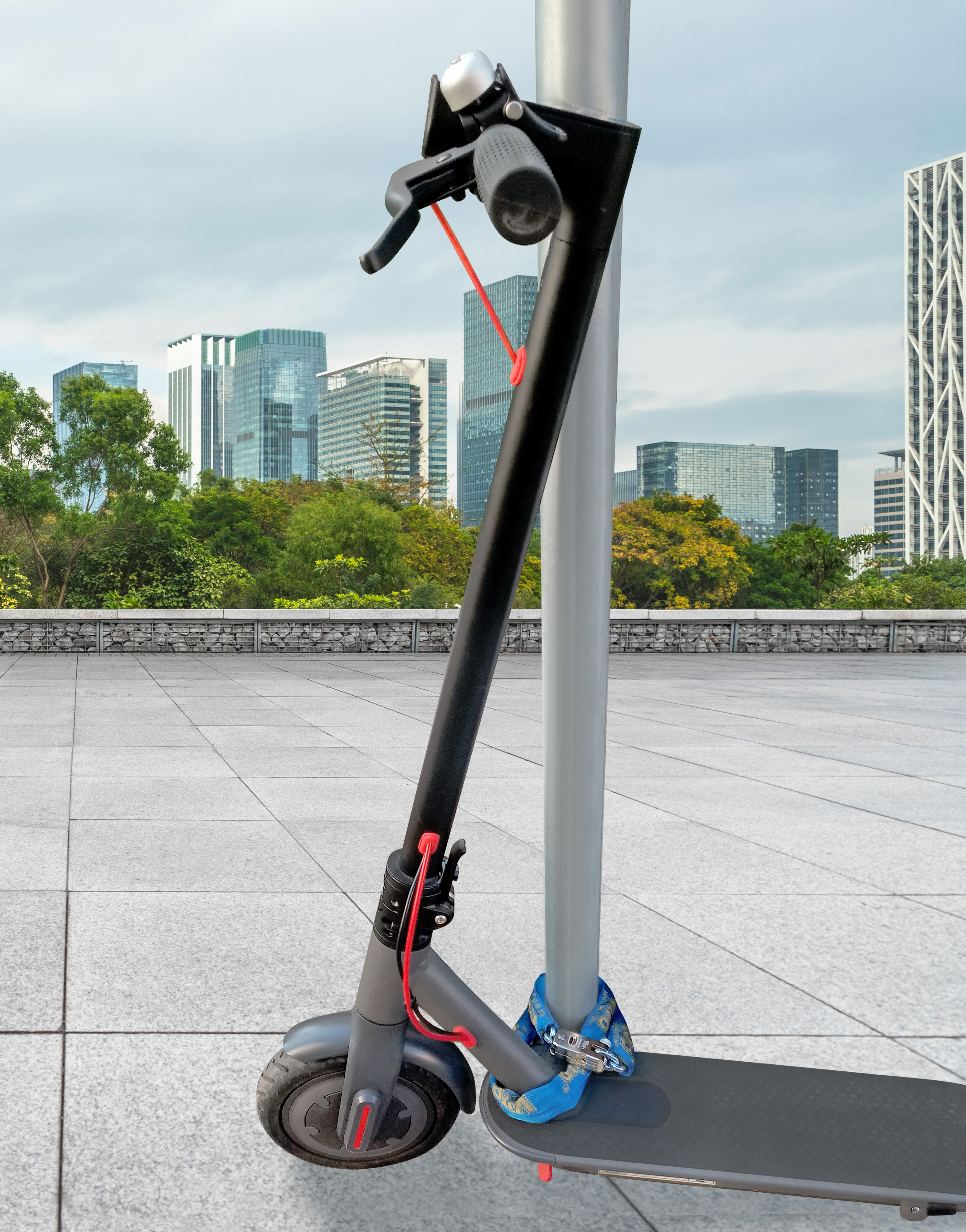Electric Scooter and Chain