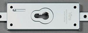Las cerraduras Viro Serie 8270 pueden montar cualquier cilindro o medio cilindro de perfil europeo, y permiten cualquier masterización (crear sistemas de llave maestra con otros cilindros existentes).
