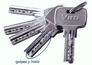 llave perforado