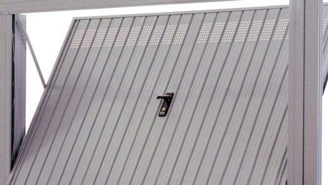 Chapas para puertas de garaje