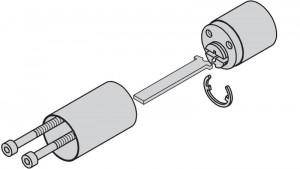Kit de prolongación para cilindros exteriores.