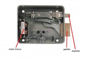 Las cerraduras Viro están equipadas con doble bobina que garantiza una mayor duración.