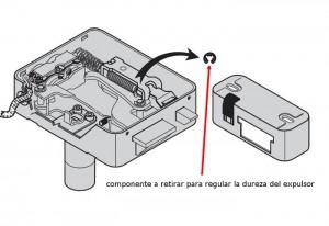 En las cerraduras Viro el esfuerzo de cierre se puede ajustar simplemente quitando un anillo.