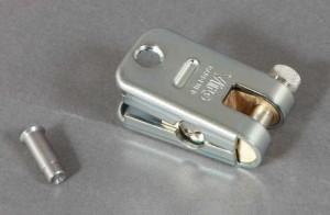 El Supermorso es un candado acorazado para cadena con placa a prueba de taladro.