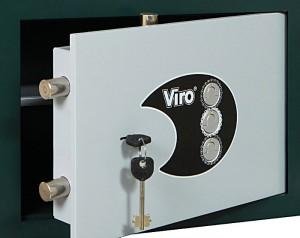 Las cerraduras con combinación mecánica tampoco presentan el problema de la llave, pero respecto a las electrónicas disponen de un número mucho más limitado de combinaciones.