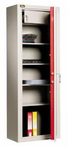 Un armario portadocumentos Viro con estantes que pueden alojar fácilmente incluso voluminosas carpetas de anillas