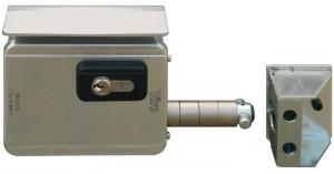 La cerradura Viro V09 es la primera cerradura eléctrica diseñada específicamente para las cancelas correderas.