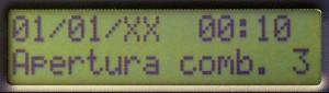 Un ejemplo de datos que pueden visualizarse en el archivo histórico de las cajas fuertes Viro Ram-Touch.