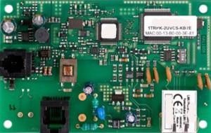 Ejemplo de un módulo de marcador GSM.