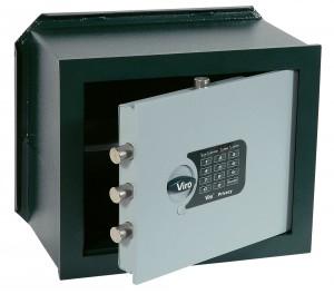 Caja fuerte de combinación electrónica, versión horizontal de empotrar, Viro Privacy.