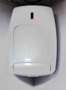 Ejemplo de sensor con tecnología de infrarrojos.